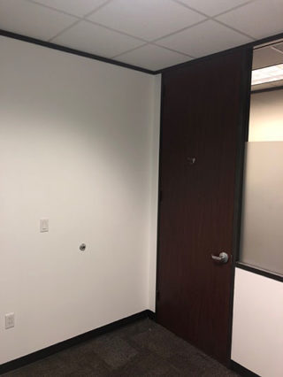 300 SqFt Office Painted White