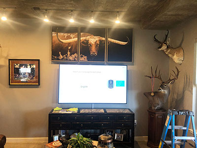 Full Display, picture hanging, and TV mounting-