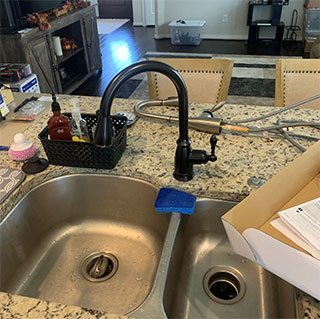 Installed-Kitchen-Faucet